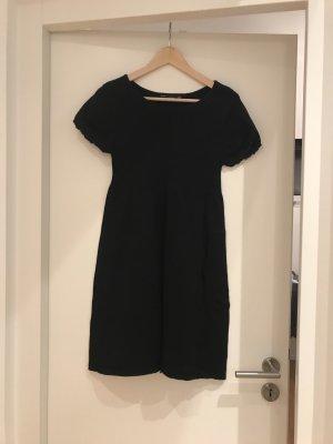 Zara Vestido tejido negro