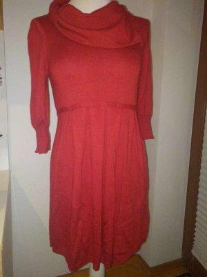 Gebreide jurk veelkleurig