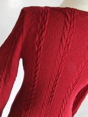 Abito di maglia multicolore Tessuto misto