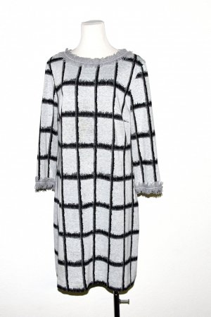 Ana Alcazar Knitted Dress light grey-black mixture fibre