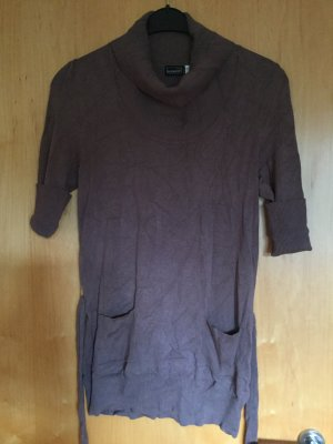 Esmara Knitted Dress grey brown