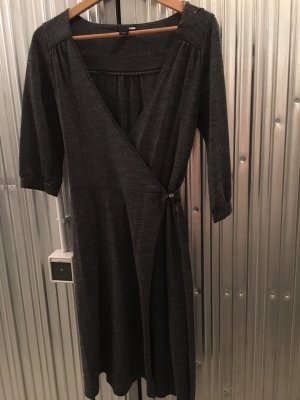 H&M Knitted Dress anthracite