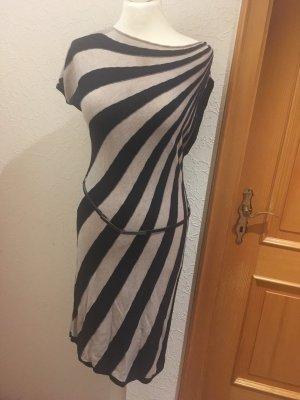 Comma Vestido tejido azul oscuro-crema