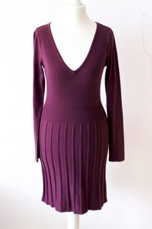 H&M Knitted Dress multicolored