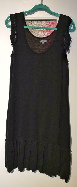 grain de malice Wollen jurk zwart