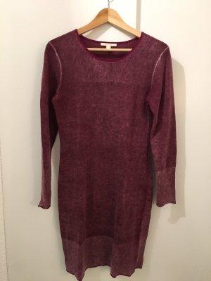 Esprit Vestido de lana púrpura-lila grisáceo