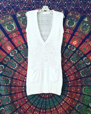 strickkleid oder pollunder / weiss / vintage / granny / strick / knits