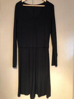 Strickkleid schwarz minimalistisch Marco O'Polo