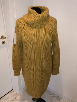 Made in Italy Knitted Dress gold orange