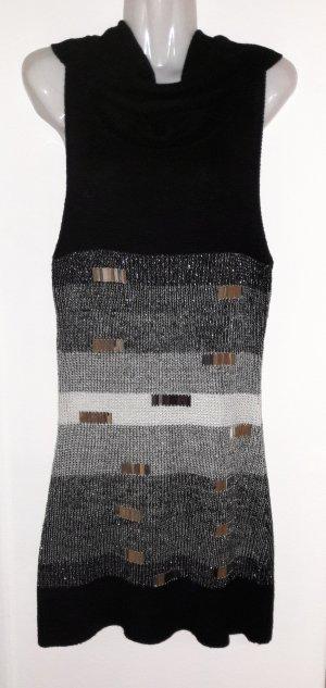Robe multicolore tissu mixte