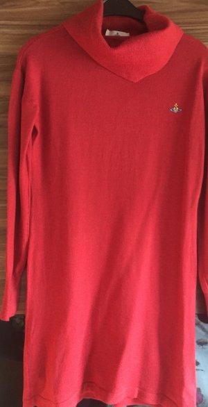 Vivienne Westwood Robe en maille tricotées rouge-rouge brique
