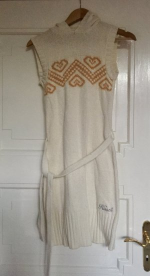 Hooch Knitted Dress natural white-gold-colored