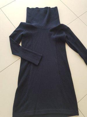 Joop! Wollen jurk donkerblauw