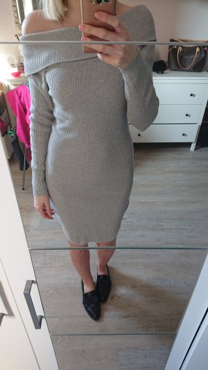 Orsay Knitted Dress light grey