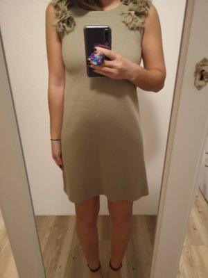 Zara Vestido tejido multicolor