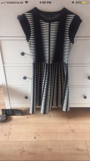 Zara Knitted Dress white-black