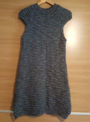 Strickkleid von Zara Knit Gr. L Grau #120