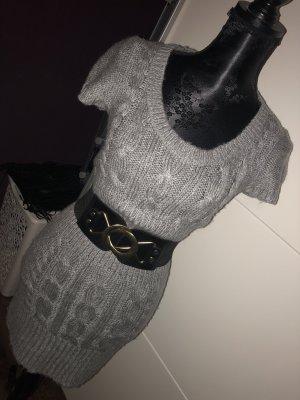 Tally Weijl Gebreide jurk grijs-lichtgrijs