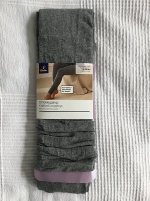 Strickleggings grau L 44/46 *NEU*