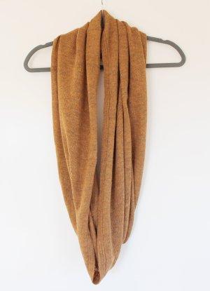H&M Gebreide sjaal lichtbruin-cognac