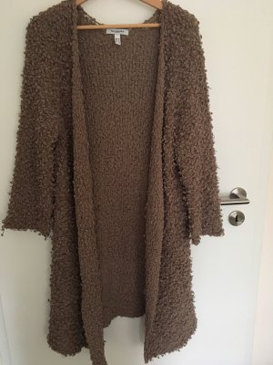 taubert Knitted Coat taupe-grey brown