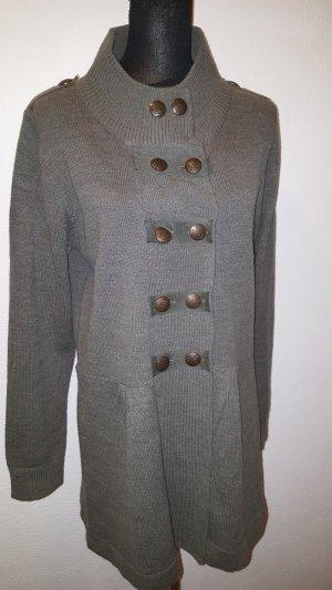 Gina Knitted Coat khaki
