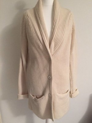 COS Knitted Coat cream