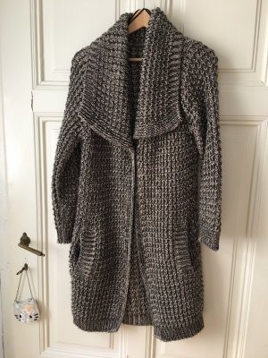 Yessica Knitted Coat multicolored polyacrylic