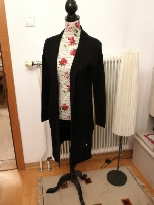 Only Knitted Coat black
