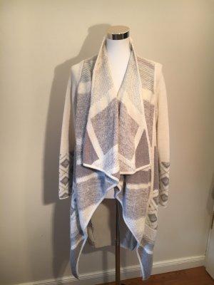 Vince Knitted Coat white-light grey