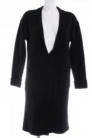 Knitted Coat black romantic style