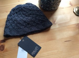 Emu Knitted Hat slate-gray-anthracite wool