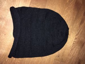 Vero Moda Sombrero de punto negro