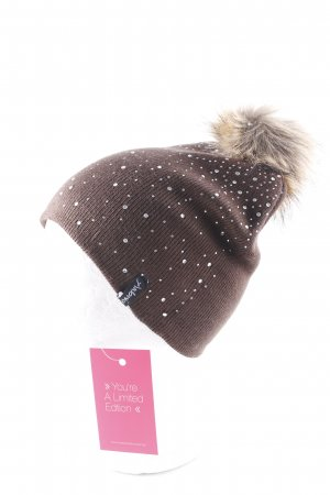 Knitted Hat brown casual look