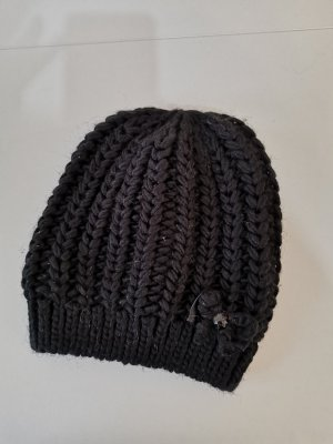 Hallhuber Knitted Hat black