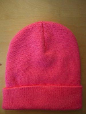 American Apparel Cap neon pink