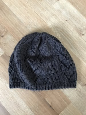 H&M Knitted Hat dark grey