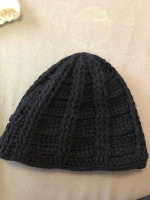 Barts Chapeau en tricot noir