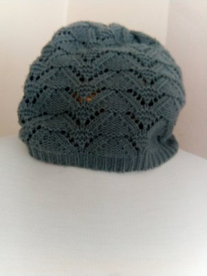 Gorro color plata