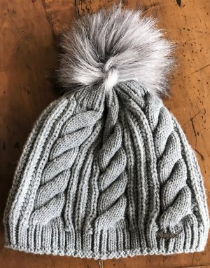 Bobble Hat silver-colored-grey