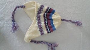 Knitted Hat multicolored polyacrylic