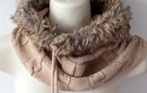 Tally Weijl Knitted Hat beige