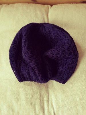 Pieces Chapeau en tricot bleu foncé