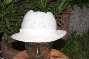 Chapeau en laine blanc
