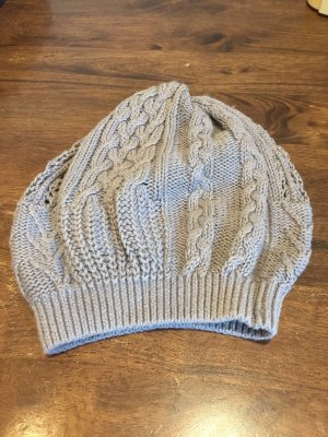 United Colors of Benetton Knitted Hat beige-grey