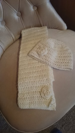 3 Suisses Knitted Hat white