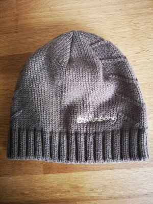 Billabong Knitted Hat grey brown