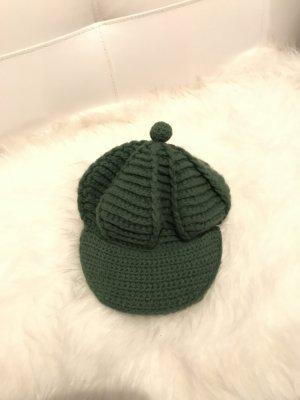 Roeckl Cappello a maglia verde bosco Lana