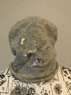 s.Oliver Knitted Hat light grey-grey