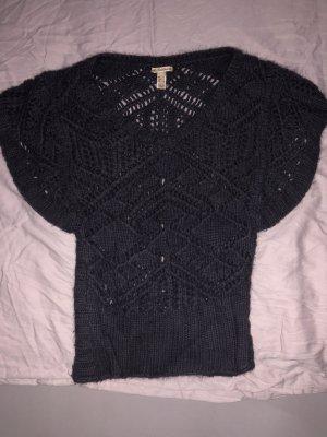 Mango Knitwear slate-gray-dark grey